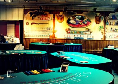 Larger Casino Night with Bar